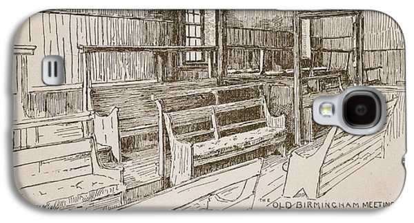 The Old Birmingham Meeting House, 1893 Galaxy S4 Case