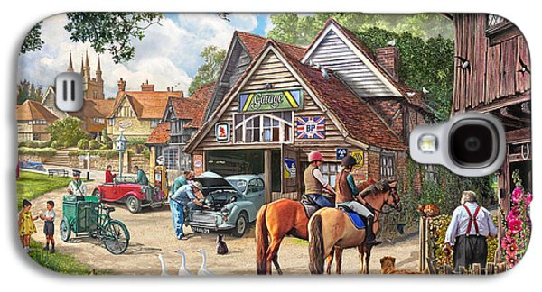 The Old Garage Galaxy S4 Case by Steve Crisp