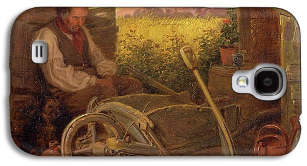 The Old Gardener Signed And Dated, Lower Right Br 1863 Galaxy S4 Case by Litz Collection
