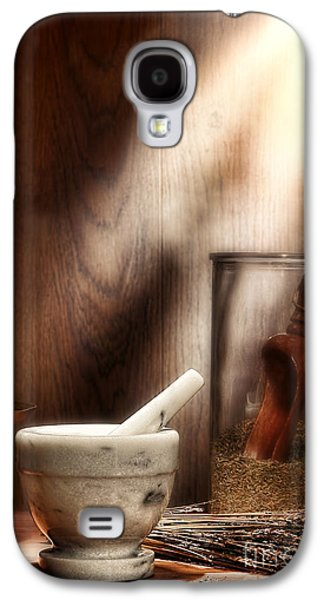 The Old Lavender Artisan Shop Galaxy S4 Case by Olivier Le Queinec