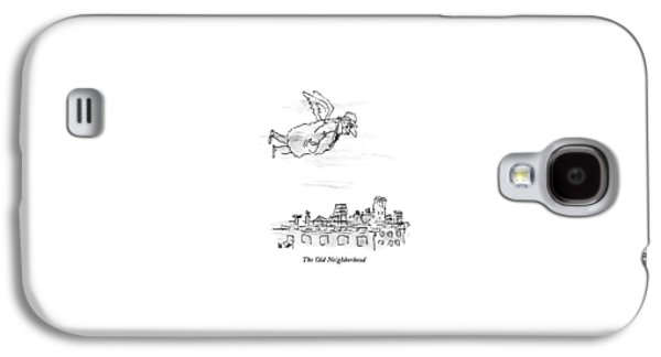 The Old Neighborhood Galaxy S4 Case by William Steig