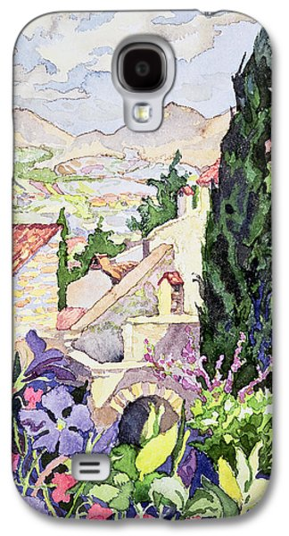 The Old Town Vaison Galaxy S4 Case by Julia Gibson