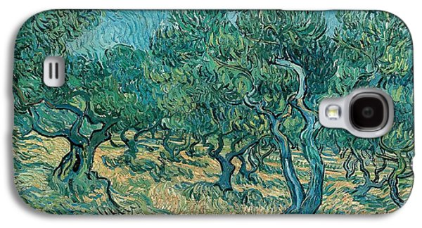 The Olive Grove Galaxy S4 Case by Vincent van Gogh