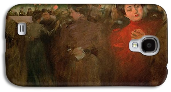 The Open Air Party Galaxy S4 Case by Ramon Casas i Carbo