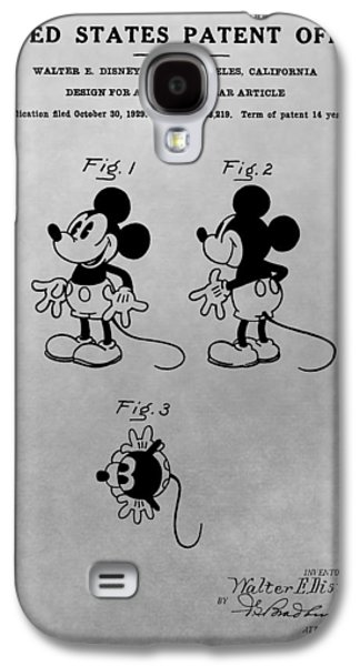 The Original Mickey Mouse Patent Design Galaxy S4 Case by Dan Sproul