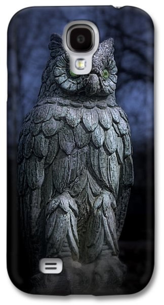 The Owl Galaxy S4 Case by Tom Mc Nemar