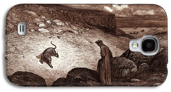 The Panther In The Desert, By Gustave Dore Galaxy S4 Case