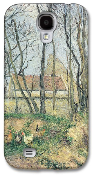 The Path Of The Wretched Galaxy S4 Case by Camille Pissarro