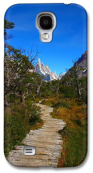 The Path To Mountains Galaxy S4 Case by FireFlux Studios