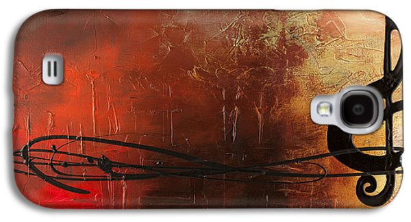 Trombone Galaxy S4 Case - The Pause by Carmen Guedez