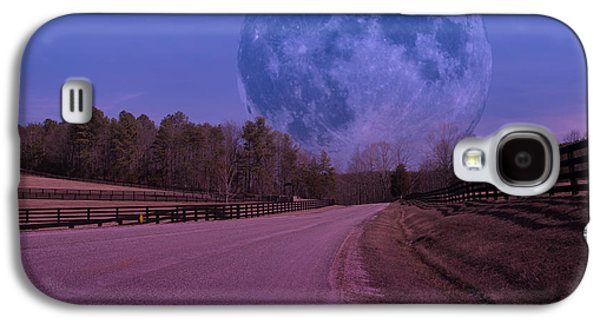 The Peace Moon  Galaxy S4 Case