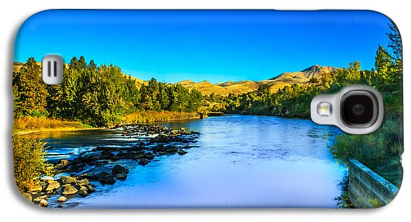 The Peaceful And Beautiful Payette River Galaxy S4 Case by Robert Bales