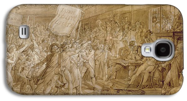 The People Of Paris Storm The Tuileries Galaxy S4 Case by Francois Pascal Simon Gerard