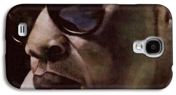 The Pied Piper Of Intrigue - Jay Z Galaxy S4 Case by Reggie Duffie
