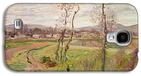 The Plain At Gennevilliers Galaxy S4 Case by Claude Monet