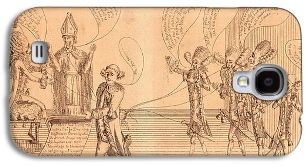 The Plan, Or A Scene In The French Cabinet Galaxy S4 Case by Litz Collection