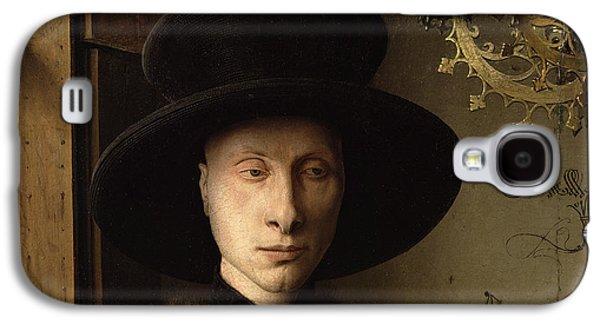 The Portrait Of Giovanni ? Arnolfini And His Wife Giovanna Cenami ? The Arnolfini Marriage 1434 Oil Galaxy S4 Case