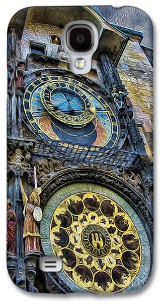 The Prague Astronomical Clock Galaxy S4 Case by Lee Dos Santos