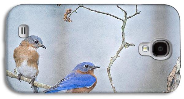 The Presence Of Bluebirds Galaxy S4 Case