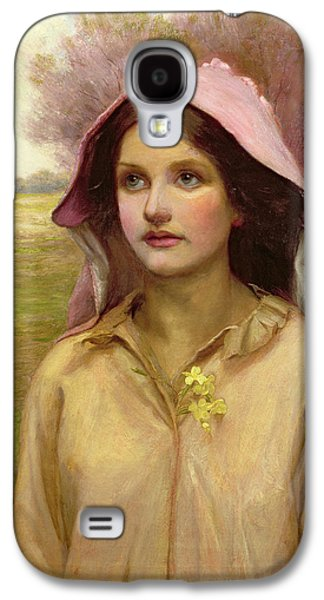 The Primrose Girl Galaxy S4 Case by William Ward Laing
