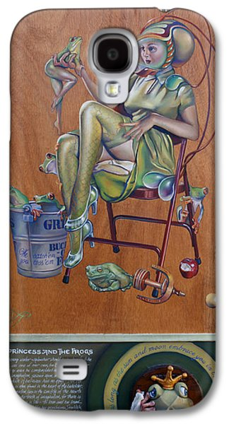 The Princess And The Frogs Galaxy S4 Case by Patrick Anthony Pierson
