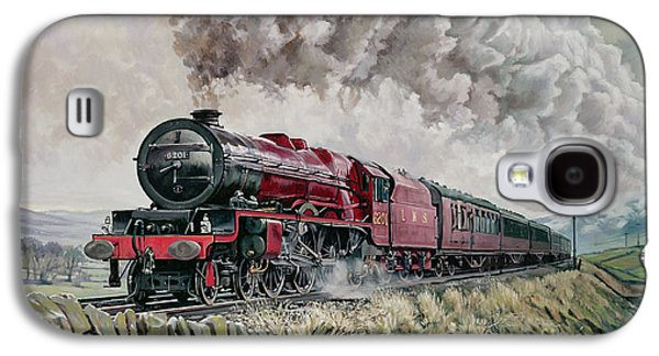 The Princess Elizabeth Storms North In All Weathers Galaxy S4 Case by David Nolan