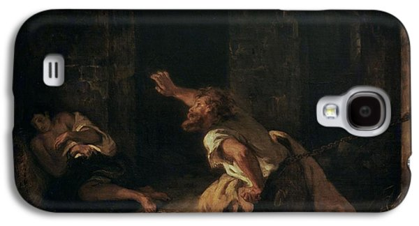 Dungeon Galaxy S4 Case - The Prisoner Of Chillon by Ferdinand Victor Eugene Delacroix