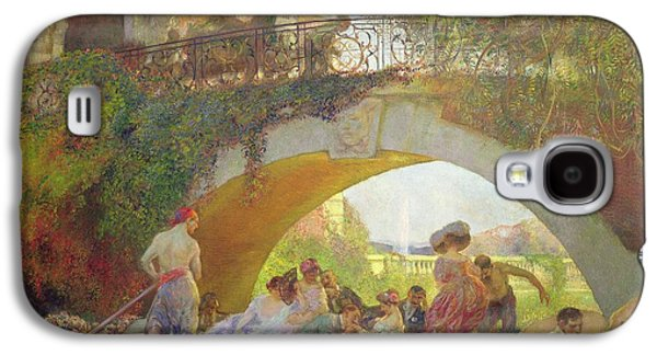 The Prodigal Son Oil On Canvas Galaxy S4 Case by Gaston de La Touche