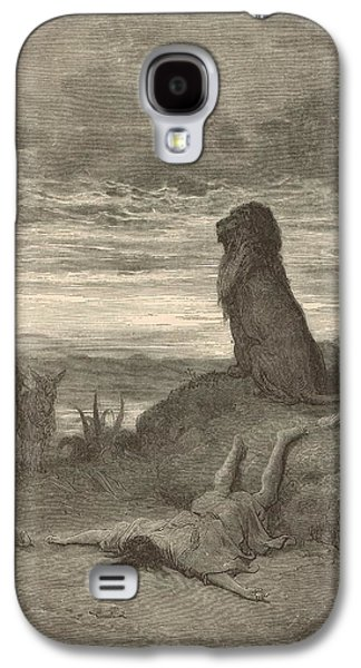 The Prophet Slain By A Lion Galaxy S4 Case