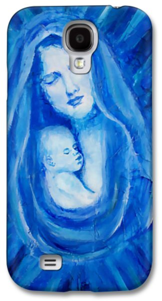 The Protecting Love Of A Mother And Her Child Galaxy S4 Case by The Art With A Heart By Charlotte Phillips