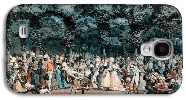 The Public Promenade Galaxy S4 Case by Philibert-Louis Debucourt