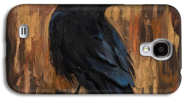 The Raven Galaxy S4 Case by Billie Colson