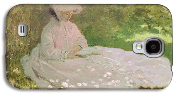 The Reader  Galaxy S4 Case by Claude Monet