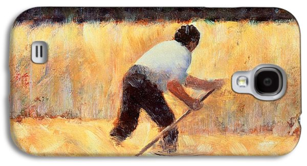 The Reaper Galaxy S4 Case by Georges Seurat