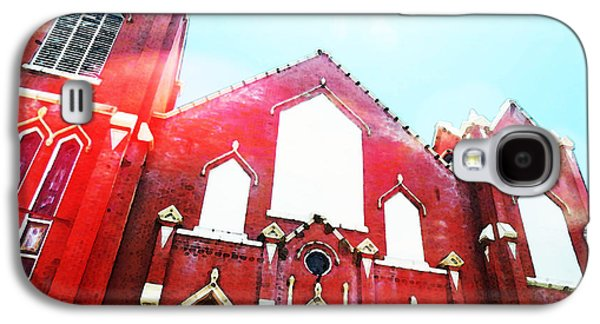 The Red Church By Sharon Cummings Galaxy S4 Case