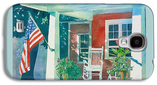 The Red Cottage Galaxy S4 Case by LeAnne Sowa