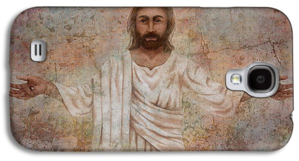 The Resurrection And The Life Galaxy S4 Case by April Moen