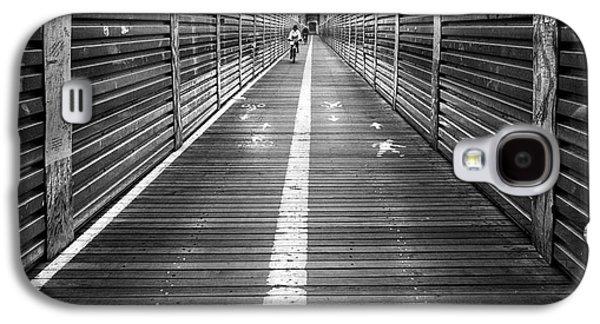 The Riders Brooklyn Bridge Galaxy S4 Case by John Farnan