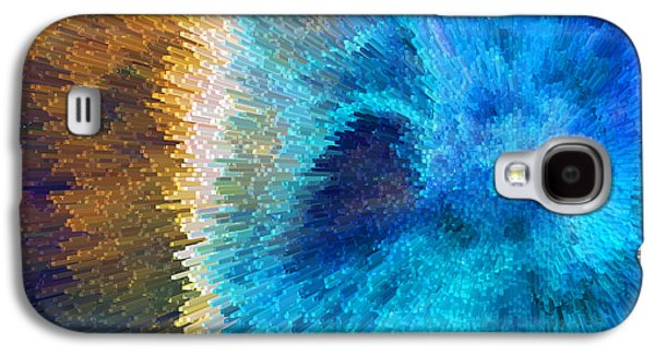 The Right Direction - Abstract Art By Sharon Cummings Galaxy S4 Case