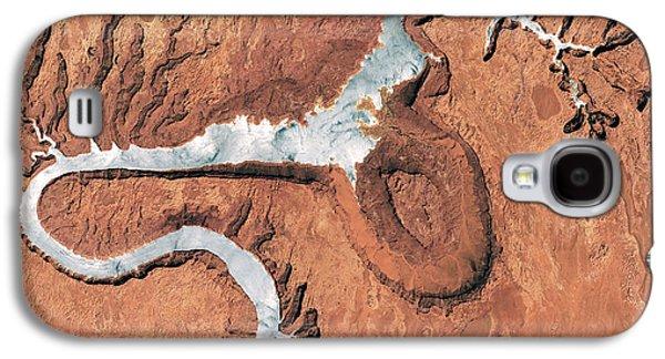 The Rincon, Lake Powell, Satellite View Galaxy S4 Case