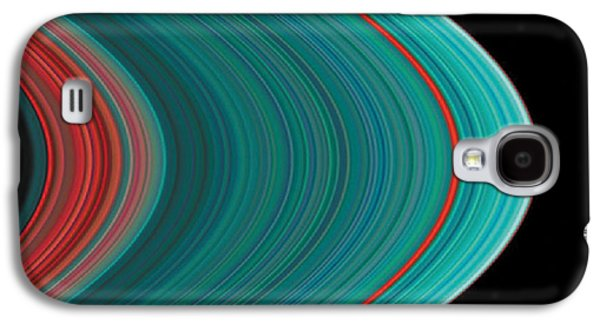 The Rings Of Saturn Galaxy S4 Case by Anonymous