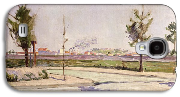The Road To Gennevilliers, 1883 Oil On Canvas Galaxy S4 Case by Paul Signac