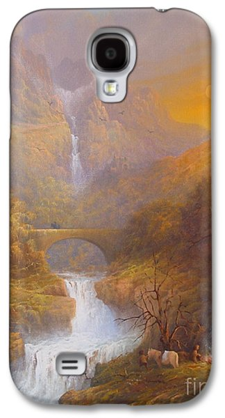 The Road To Rivendell The Lord Of The Rings Tolkien Inspired Art  Galaxy S4 Case by Joe  Gilronan