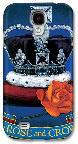 The Rose & Crown Galaxy S4 Case by Peter Green