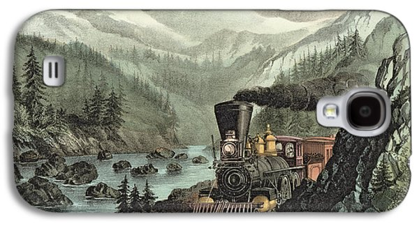 The Route To California Galaxy S4 Case by Currier and Ives