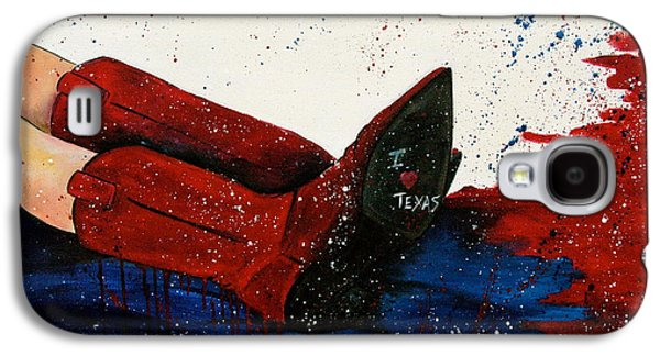 The Ruby Slippers Of The South Galaxy S4 Case by Debi Starr