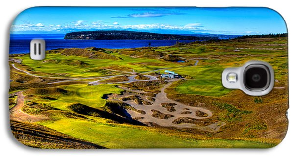 The Scenic Chambers Bay Golf Course IIi - Location Of The 2015 U.s. Open Tournament Galaxy S4 Case by David Patterson