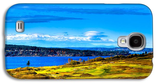 The Scenic Chambers Bay Golf Course Iv - Location Of The 2015 U.s. Open Tournament Galaxy S4 Case by David Patterson