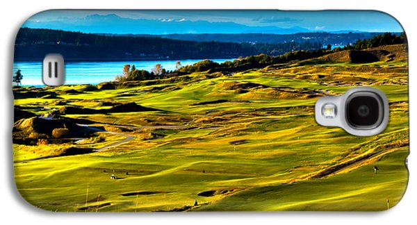 The Scenic Chambers Bay Golf Course - Location Of The 2015 U.s. Open Tournament Galaxy S4 Case by David Patterson