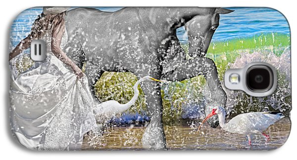 The Sea Horse Galaxy S4 Case